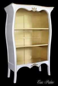 Casa Padrino Barock Bücher Regal Schrank - Büro Einrichtung